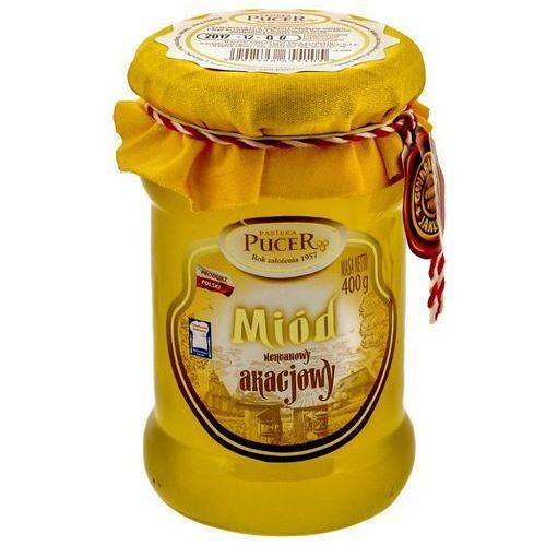 Pucer Miód akacjowy nektarowy 400g pasieka (5902596655105)