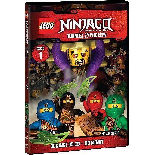 LEGO Ninjago. Turniej żywiołów. Część 1. Odcinki 35-39. DVD