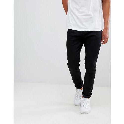 Bershka Skinny Jeans In Black - Black