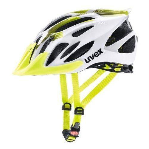 Kask rowerowy flash l 57-61 cm biały/limonka marki Uvex