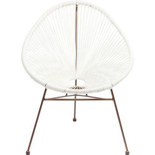 KARE Design:: Krzesło Spaghetti białe/miedź