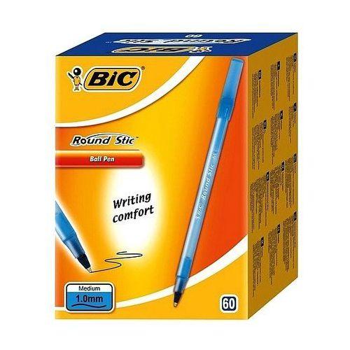Długopis round stic niebieski 893212 marki Bic