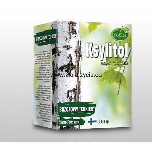 Ksylitol cukier brzozowy - naturalna słodycz dla zdrowia (500 g) marki Aka