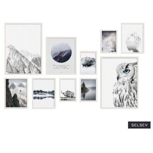 SELSEY Galeria dziesięciu obrazów Muscida z wyborem ramy (5903025470948)