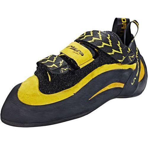 La Sportiva Miura VS But wspinaczkowy żółty/czarny 42,5 2019 Buty wspinaczkowe na rzepy