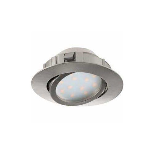 Oczko led Eglo Pineda 95849 oprawa sufitowa 1x6W LED nikiel mat, 95849