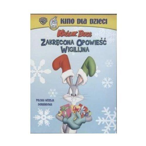Królik Bugs: Zakręcona opowieść wigilijna (DVD) - Galapagos OD 24,99zł DARMOWA DOSTAWA KIOSK RUCHU (7321909012059)