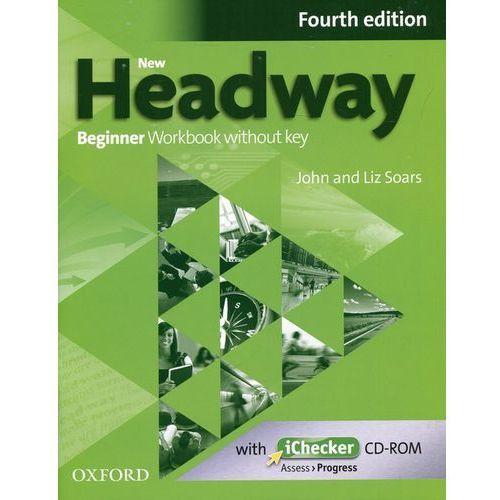 New Headway 4e Beginner Workbook Without Key & Ichecker CD-rom Pack, oprawa miękka