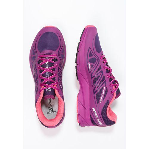 Salomon SONIC AERO Obuwie do biegania treningowe cosmic purple/azalee pink/madder pink (0887850862176)