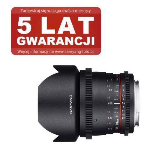 Samyang 10mm T3.1 VDSLR ED AS NCS CS II Canon (8809298881795)
