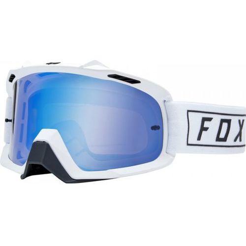 FOX GOGLE AIR SPACE GASOLINE WHITE - SZYBA BLUE S