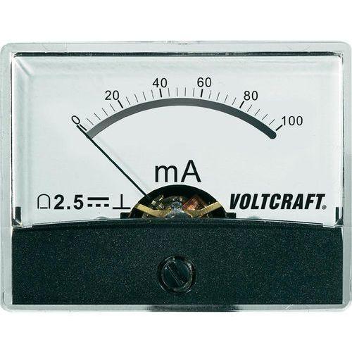 Analogowy wskaźnik panelowy VOLTCRAFT AM-60X46/100MA/DC, AM-60X46/100MA/DC