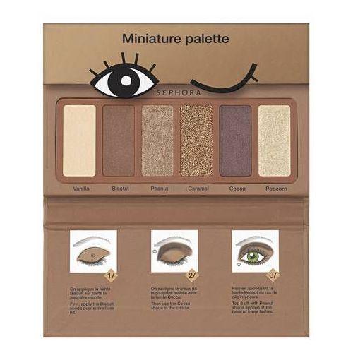 Sephora collection Miniature palette cookie - paleta 6 cieni do powiek (3378872114338)