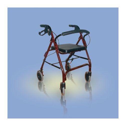 Chodzik alumioniowy, czterokołowy CA861R Antar z kategorii Balkoniki rehabilitacyjne