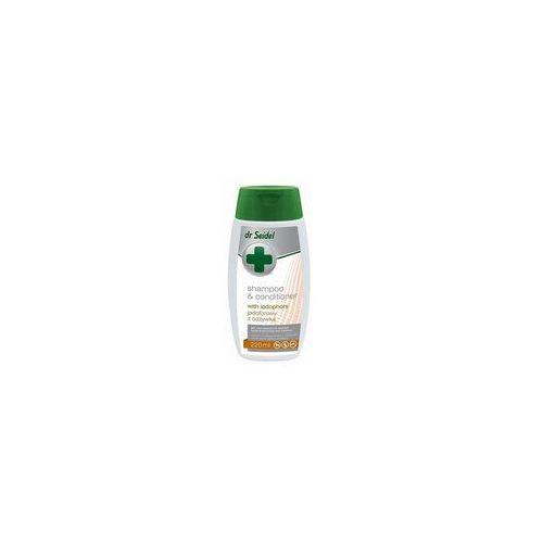 Dr seidla Dr seidel szampon jodoforowy z odżywką 220ml (5901742000301)