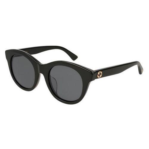 Okulary słoneczne gg 0169sa asain fit 001 marki Gucci