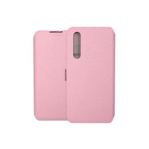 Huawei P30 - etui na telefon Wallet Book - różowy, kolor różowy