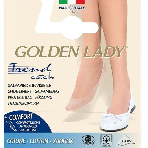 Baletki Golden Lady 6P Cotton 35-38, czarny/nero. Golden Lady, 35-38, 39-42