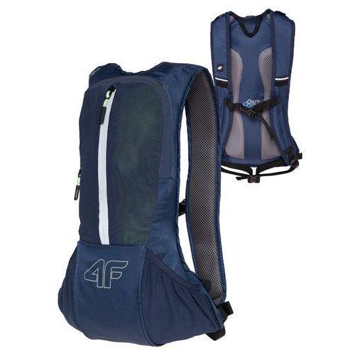 Plecak rowerowy h4l18 pcr002 6l system h2o granatowy marki 4f