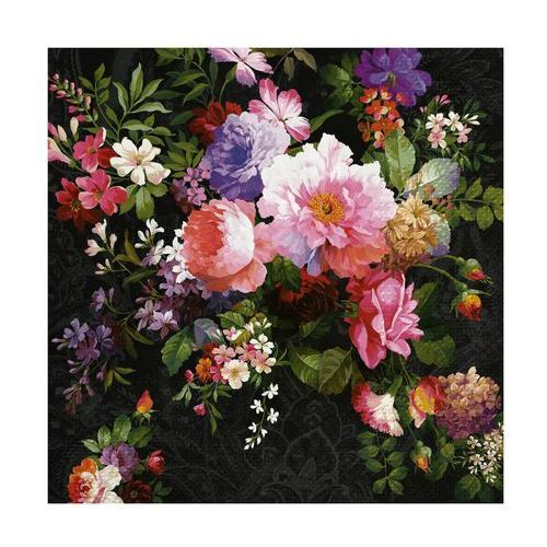 Paw decor Serwetki roses on velvet 33 x 33 cm 20 szt. (5906360751178)