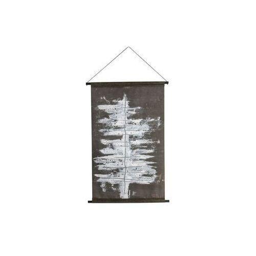 plakat z zimowym drzewem velvet czarno-biały 800273-z marki Be pure