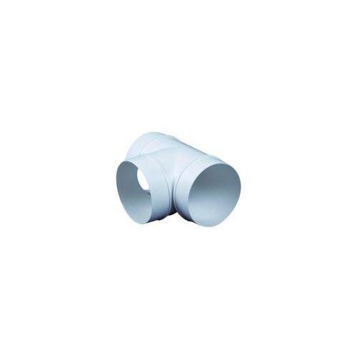Equation Trójnik kanału wentylacyjnego okrągłego okrągły 90° 125 mm (5905033311428)