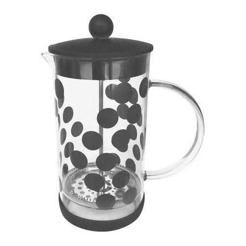 Zak! designs Kawiarka do zaparzania kawy dot dot 1 litr czarna (0015-880)