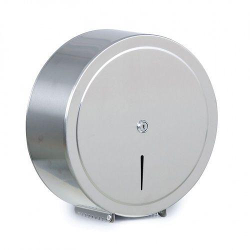 Pojemnik na papier toaletowy, stal nierdzewna, Ø 310 × 125 mm