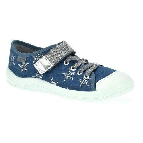 Trampki Befado 251Q094 Tim - Jeans ||Granatowy, kolor niebieski