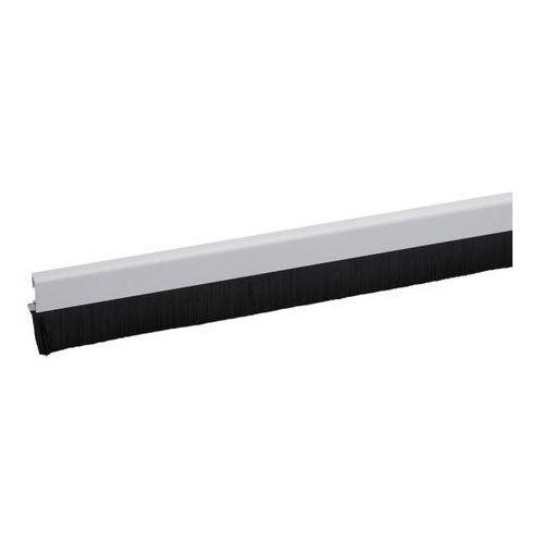 Uszczelka aluminiowa Diall szczotkowa 1 m 25 mm aluminium