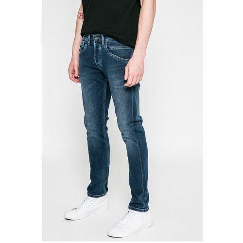 Pepe Jeans - Jeansy Cash St-Track, kolor niebieski