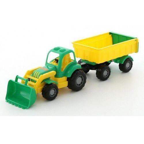 Osiłek traktor z przyczepą Nr1 i łyżką, 1_634651