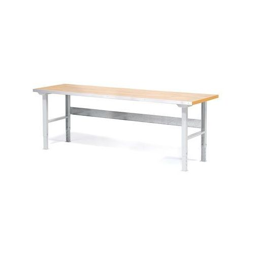 Aj produkty Stół roboczy solid, 750 kg, 2000x800 mm, dąb