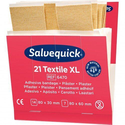 Plaster tekstylny Salvequick duży, 6470