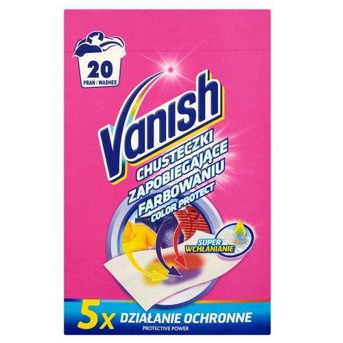 Vanish 10szt color protect chusteczki zapobiegające farbowaniu (20 prań) (5900627061987)