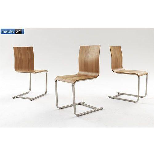 Krzesło chrom buk eko FLORA MIX Ostatnie 3 szt., kolor Krzesło