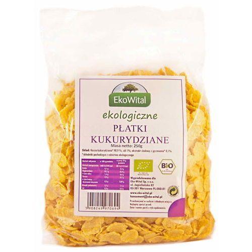 Eko wital Płatki kukurydziane bio 250 g