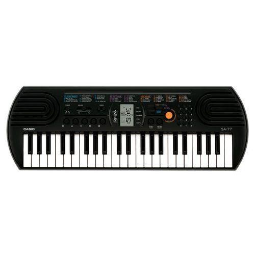 sa-77 szary - keyboard + instrukcja pl marki Casio