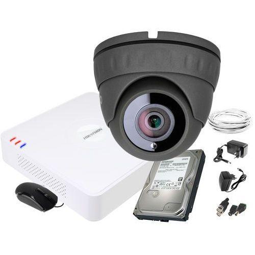 ZM11838 Zestaw do monitoringu kamera IR 25m Rejestrator Hikvision FullHD Dysk 1TB, ZM11838