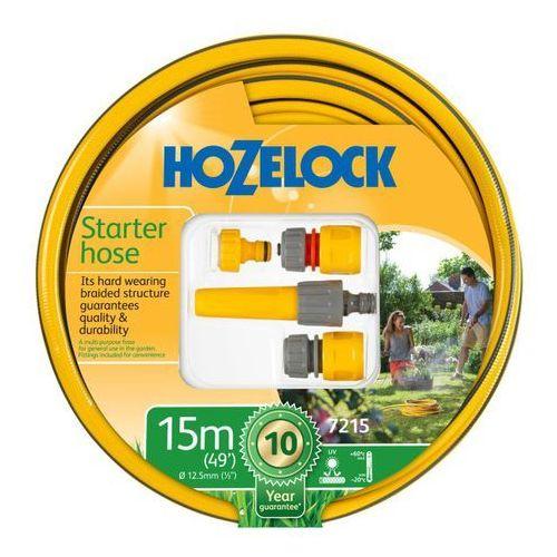 Wąż z armaturą Hozelock 15 m 1/2'' (5010646053198)