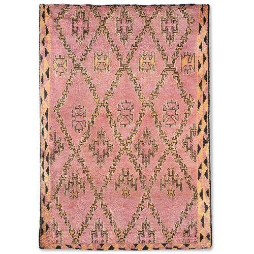 HKliving Ręcznie tkany wełniany dywan berberyjski kolor terra/pomarańczowy (250x350) TTK3043 (8718921034135)