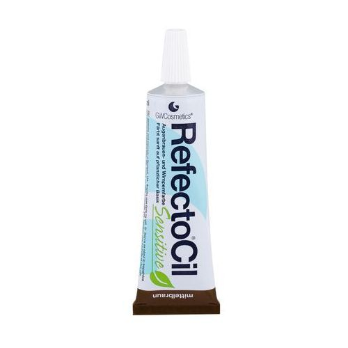 RefectoCil Sensitive | Łagodna henna do brwi i rzęs - kolor Brąz - 15ml