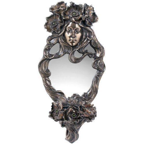 Veronese Okazałe lustro z kobietą i świecznikiem  (an10473a4)
