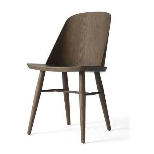 - krzesło synnes - jesion ciemny marki Menu