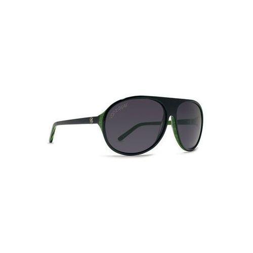 NOWE OKULARY VON ZIPPER ROCKFORD BLACK LIME-75%CENY, kolor czarny