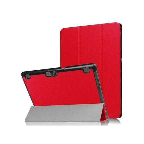 Etui Smart Cover Lenovo Tab2 A10-30/ Tab 10 X103 Czerwone - Czerwony, kolor czerwony
