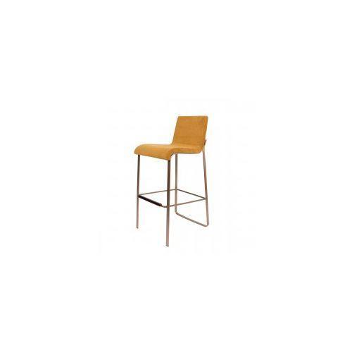 Stołek barowy FLOR żółty - Dutchbone, 1500243