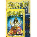 Media service zawada Scooby doo klątwa mumii + ołówki. zestaw 2 książek + ołówki z gumką (9788379940691) zdjęcie 1
