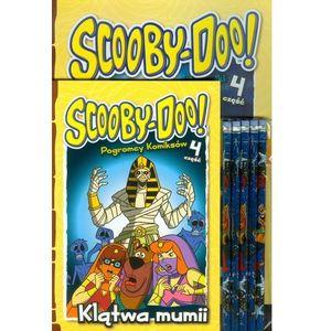 Media service zawada Scooby doo klątwa mumii + ołówki. zestaw 2 książek + ołówki z gumką (9788379940691)