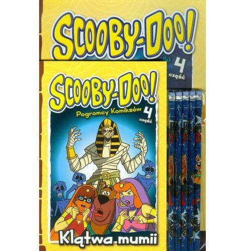 OKAZJA - Scooby doo klątwa mumii + ołówki. zestaw 2 książek + ołówki z gumką marki Media service zawada